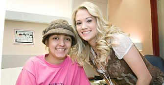 Carrie Underwood at St. Jude