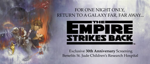 Empire Strikes Back 30th Anniversary Screening benefiting St. Jude