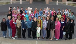 Ladies of ESA at the 2005 Circle of Life Seminar