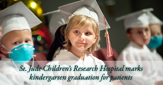 St. Jude Children's Research Hospital marks kindergarten graduation for patients