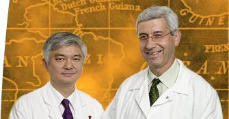 Ching-Hon Pui, MD, and Raul Ribeiro, MD