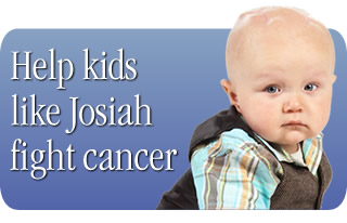 Become a Partner In Hope and help kids like Josiah fight cancer.