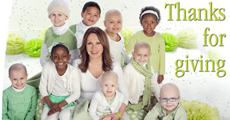 Marlo Thomas and St. Jude patients