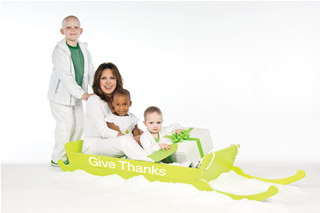 Marlo Thomas and patients
