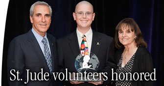 St. Jude honors volunteers