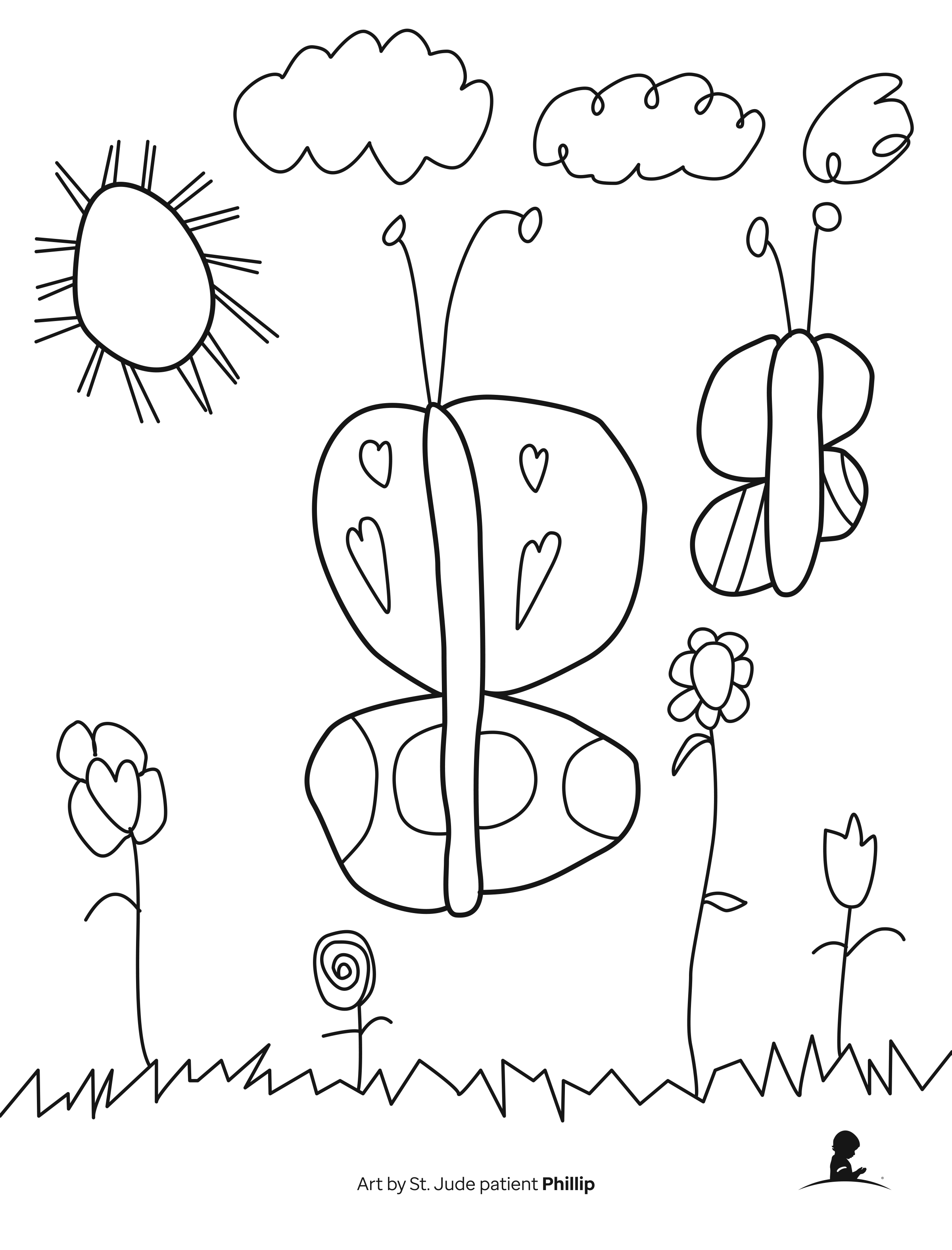 Free Bible Coloring Pages for Kids on Sunday School Zone | 3150x2400