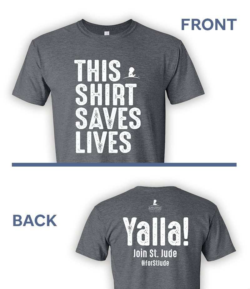 Yalla! This Shirt Saves Lives Tshirt