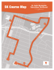 St. Jude Memphis 5K course map