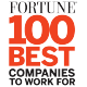 "Fortune magazine's ""100 Best Companies to Work For"""