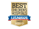 U.S. News & World Report Best Children's Hospitals 2020-21 Badge