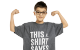 patient Farouk in a this shirt saves lives shirt