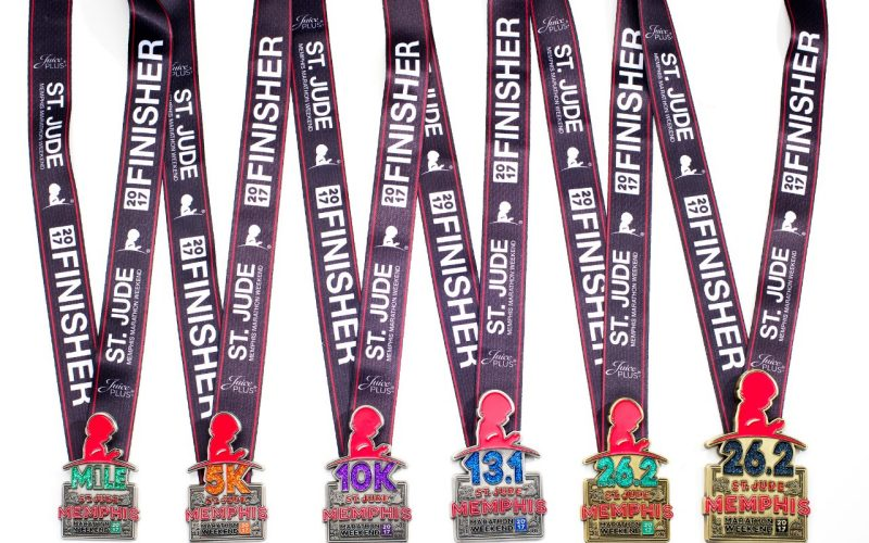 St Jude Heritage >> See the 2017 finisher medals - St. Jude Memphis Marathon ...